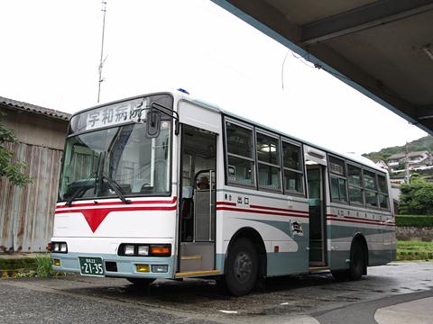 宇和島自動車 野村~卯之町線 2135