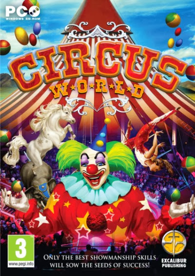 Cover Of Circus World (2013) Full Latest Version PC Game Free Download Resumable Links at Alldownloads4u.Com