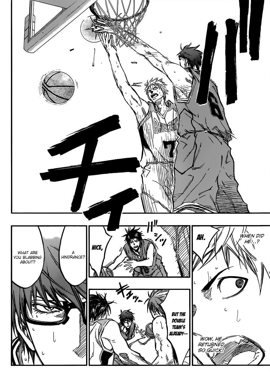 Kuroko no Basket Manga Chapter 177 - Image 14