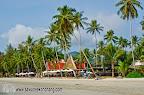 Panviman resort, south part of Klong Prao beach