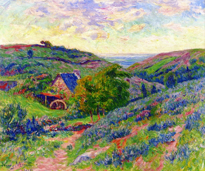 Henry Moret - The Mill at Doualan, Finistere