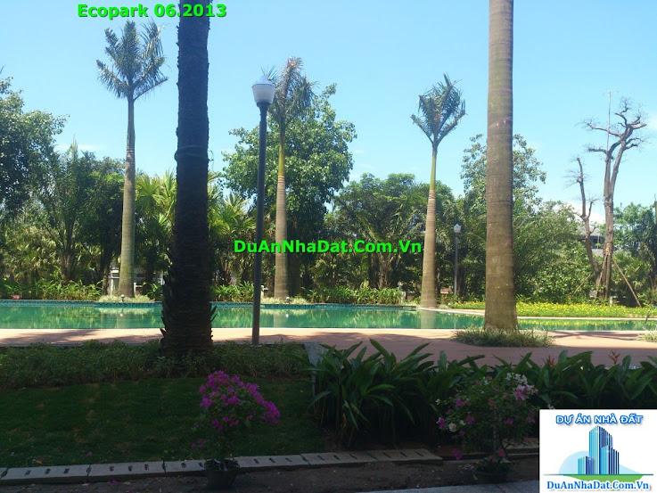bể bơi luôn sẵn sàng phục vụ cư dân Ecopark