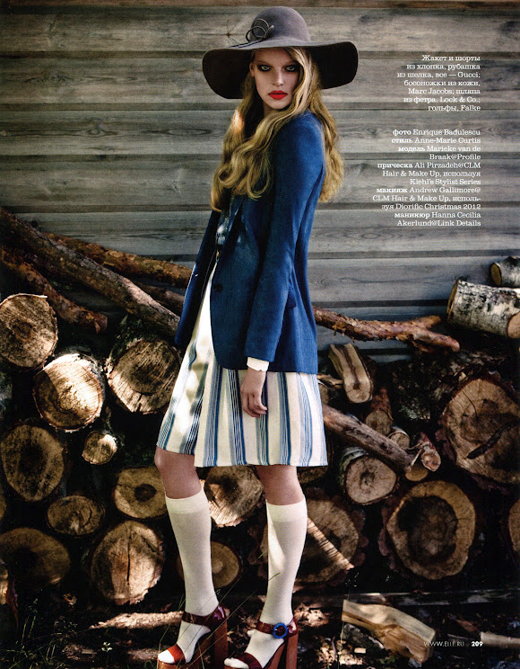 Marieke van de Braak - Elle Rusia feb-2013