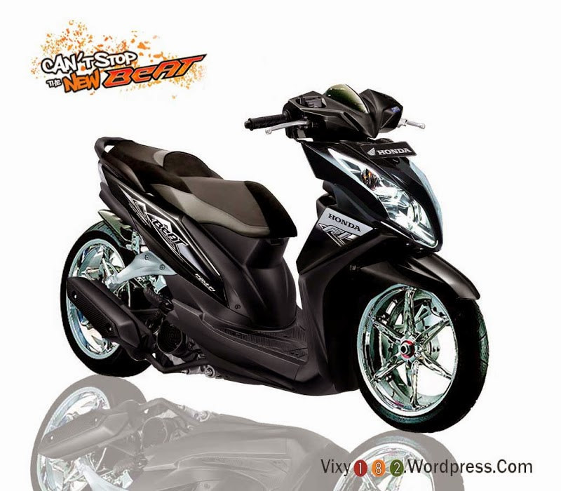 Modifikasi Motor Honda Beat Touring