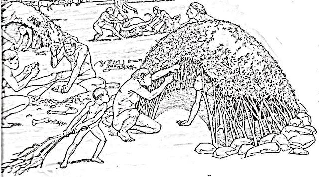 Prähistorische Leben Malvorlagen