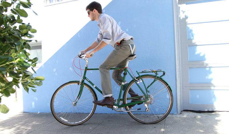 Sage BTW Matt on Bike