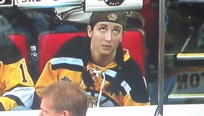 Marget McPoyle Bruins fan