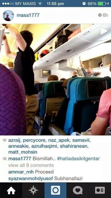 Gambar Terakhir Salah Seorang Mangsa #MH17