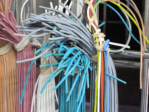 Just a few cords in pretty colors