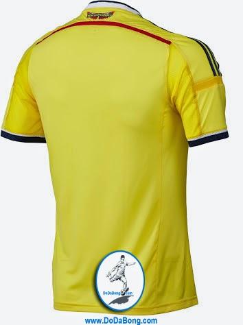 áo bóng đá colombia sân nhà