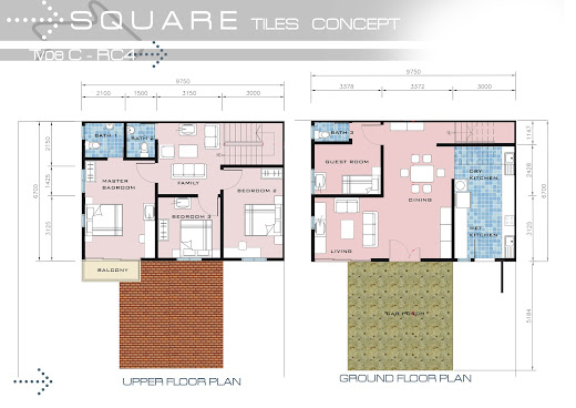 Affordable low and high rise honeycomb housing july 2012 for Quadruplex floor plans