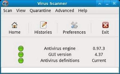 ClamTk: limpieza de virus en Ubuntu