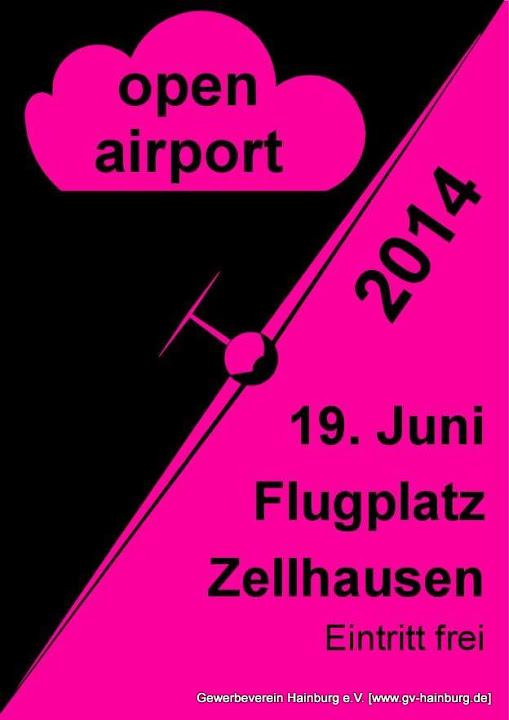 Open Airport am 19.06.2014 am Flugplatz Zellhausen