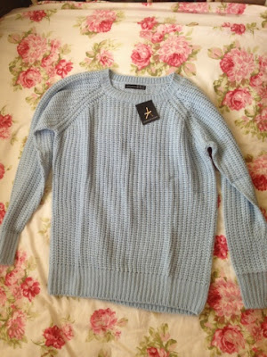 Pale blue jumper