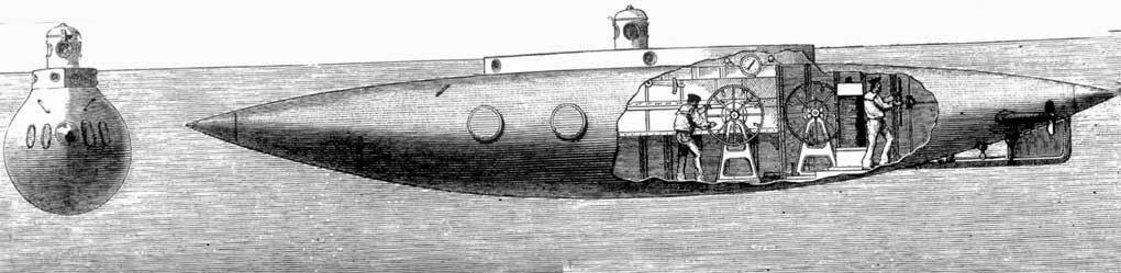 Подводные лодки Фултона