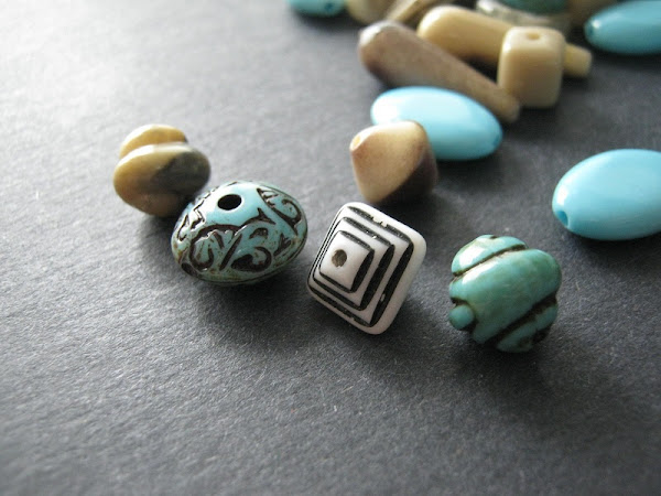 Turquoise and Horn Bead Giveaway