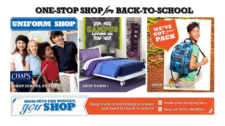 Back-to-School Shopping at Kohl's