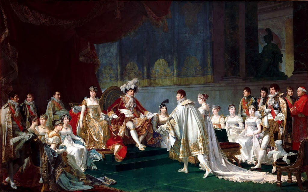 Jean-Baptiste Regnault - Mariage du prince Jérôme Bonaparte et de la Princesse Frédérique Catherine de Wurtemberg