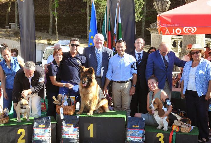 Pastor Alemão vence Exposição Canina Nacional de Lamego