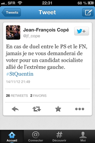 Jean-François Copé Twitter