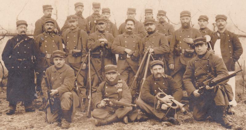 képi bataillons des douanes 1903  1914 Douaniers