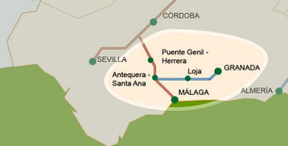 El AVE permitirá viajar entre Madrid y Granada en 2 horas y 50 minutos