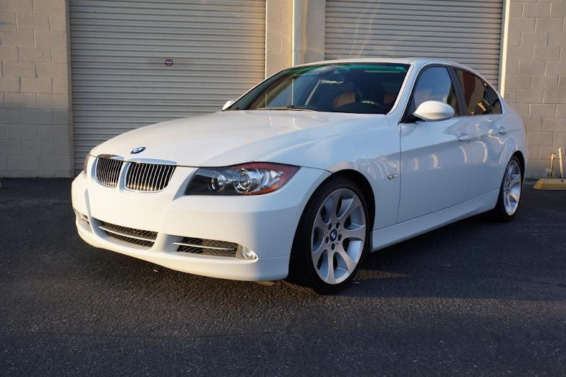 e9x for sale 2007 bmw 335i sedan white brown 6 speed manual 61k rh bimmerforums com bmw 335i manual for sale uk bmw 335i manual for sale uk