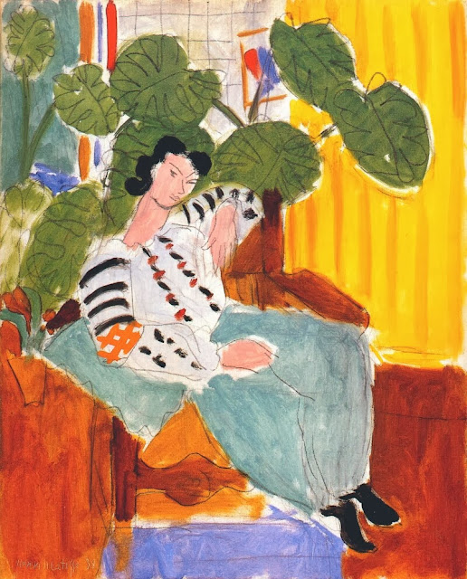 Henri Matisse - Small Romanian Blouse with Foliage