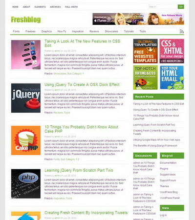 Freshblog – by Bestwp