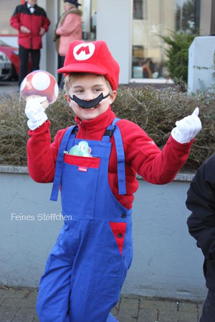 Super Mario Kostüm nähen? | Feines Stöffchen: Nähen für