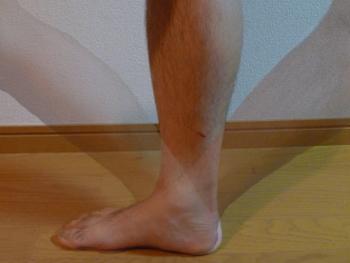 右足の可動角