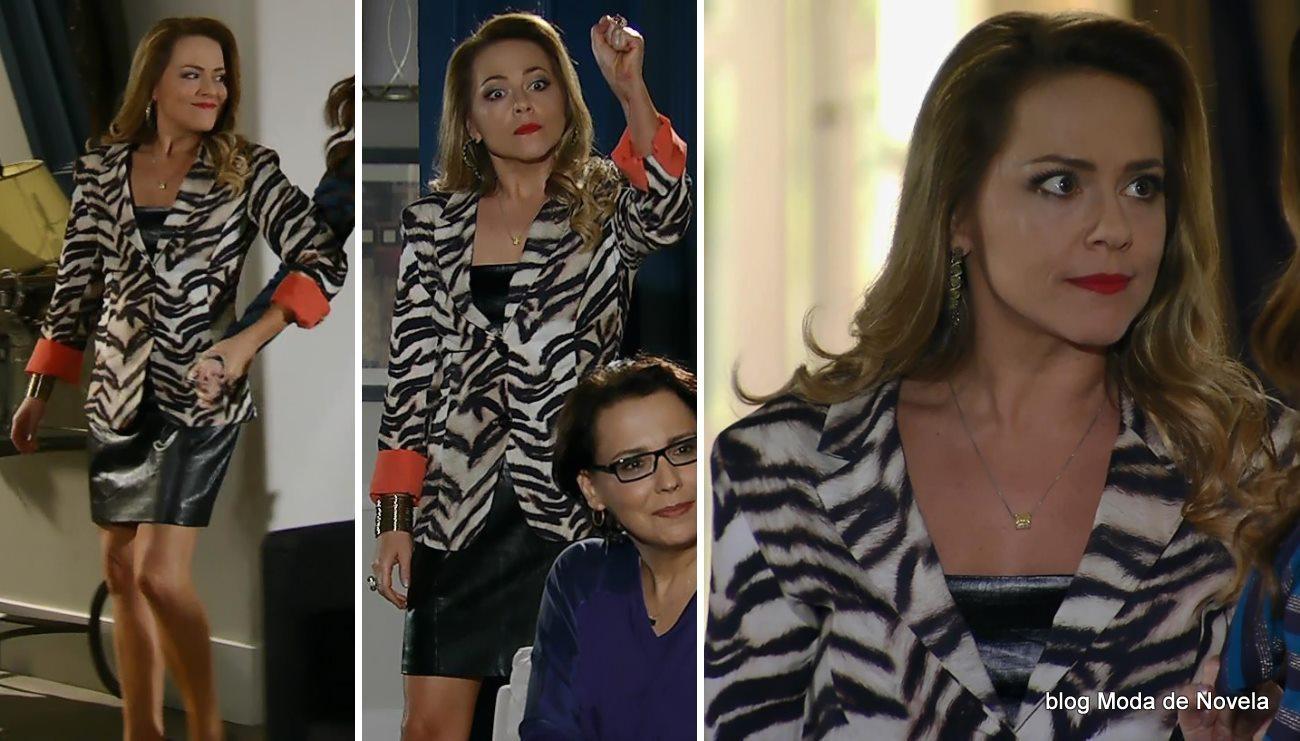 moda da novela Em Família - look da Shirley dia 12 de maio
