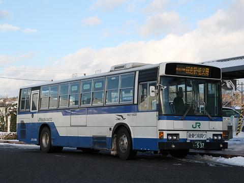 JRバス関東 白棚線 M527-95301 白河駅にて