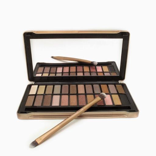 nake make up 24 earth tone colors Makeup set NK4 Metall