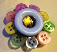 buttons, craft, kindergarden craft, glue