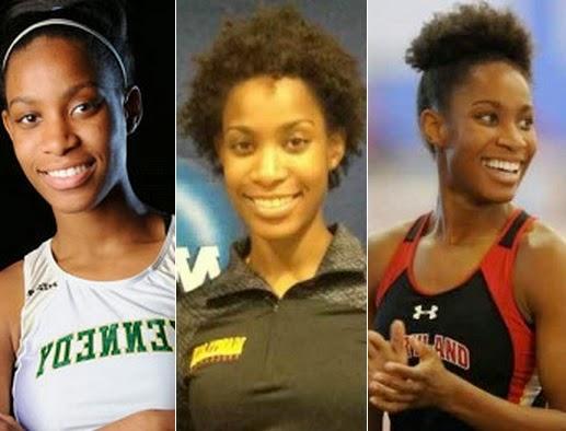 beautiful ebony athlete in Glasgow Games