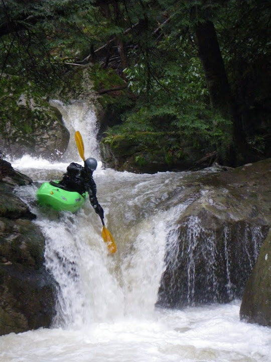 Todd Richendollar on Morgans Run near Ohiopyle, PA