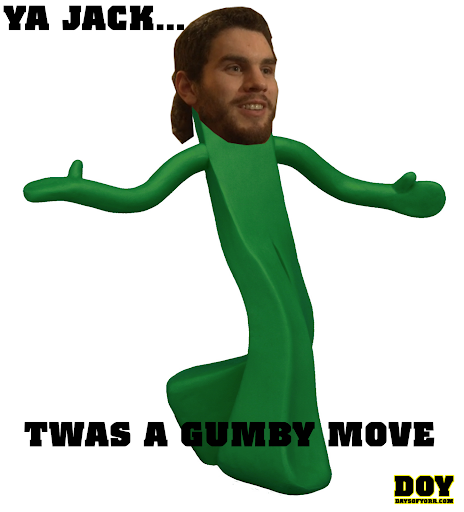 Gumbi move Adam McQuaid