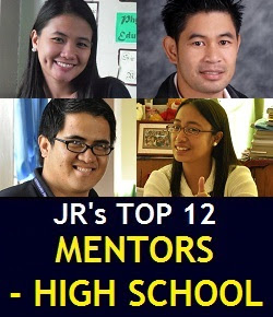 JR's 12 Best and Memorable Mentors (SLU-LHS Years)