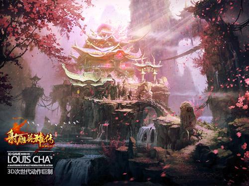 """Xạ Điêu Anh Hùng Truyện """"khoe"""" phong cảnh trong game 4"""