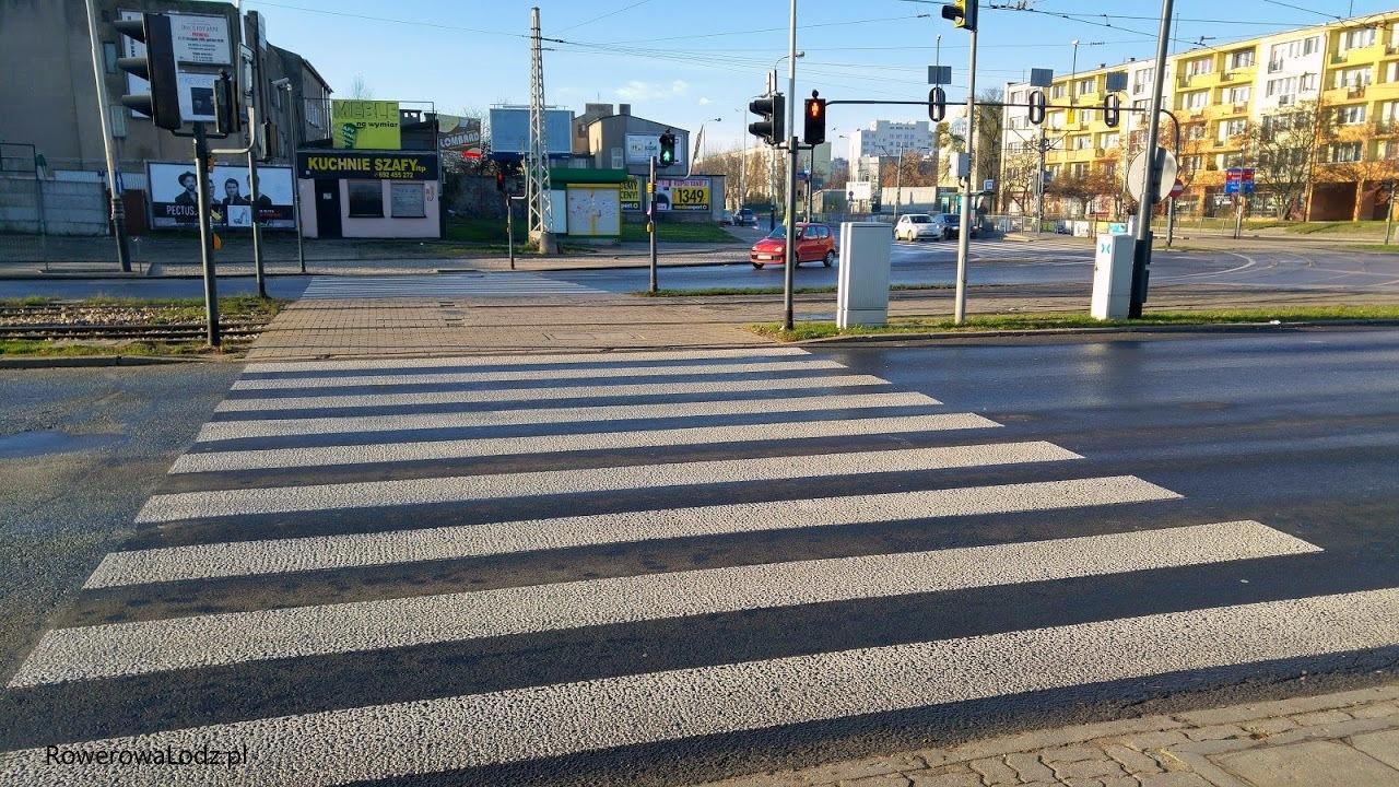 Jeszcze nie ruszyli przejazdu przez Rzgowską (na zachód)