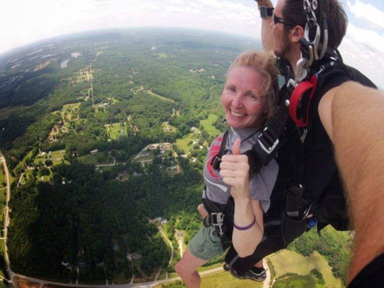 Tandem Skydiving in Lansing MI - Weight Limit