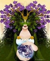 Goddess Erda Image