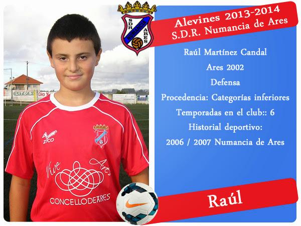 ADR Numancia de Ares. RAUL