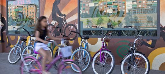 Alquiler de bicicletas en Madrid. Mapa, direcciones, webs, y teléfonos