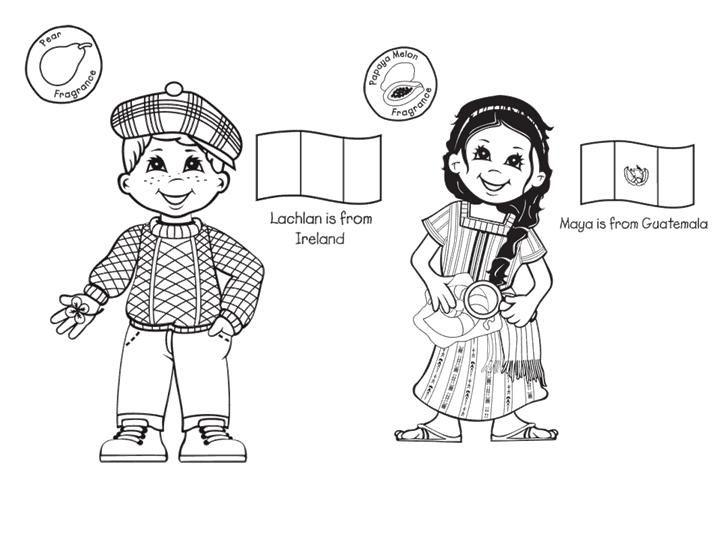 Las Misiones y los Niños: Dibujos para colorear de niños de ...