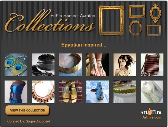 Example of an ArtFire Collection Widget