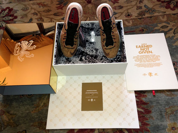 Closer Look at LeBron X CORK Limited Edition Packaging 1 of 21