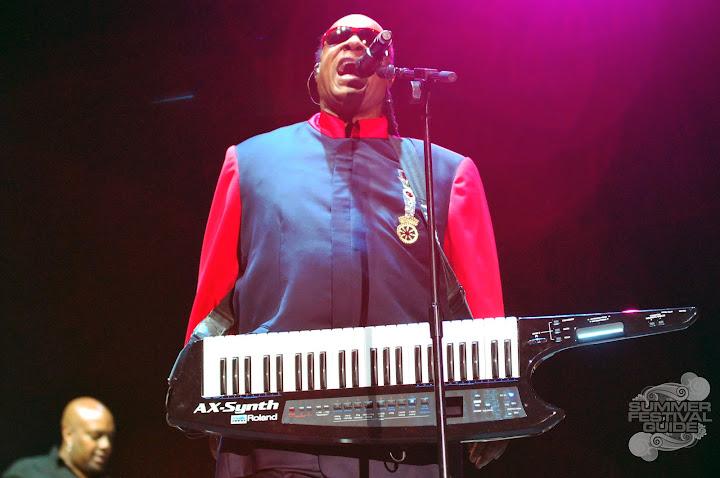 Stevie Wonder @ Bestival 2012