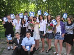 Учні менщини під час святкування «Останнього дзвоника» отримали профорієнтаційні щоденники